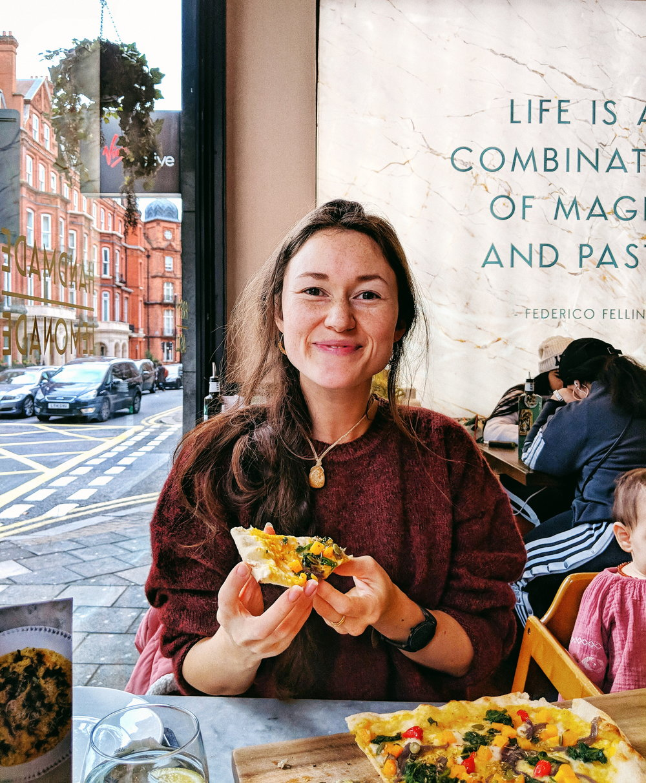 ASK Italian vegan menu review / London vegan-friendly restaurant, Central London, Park Street Mayfair // Serena Lee // London Vegan Food Blogger