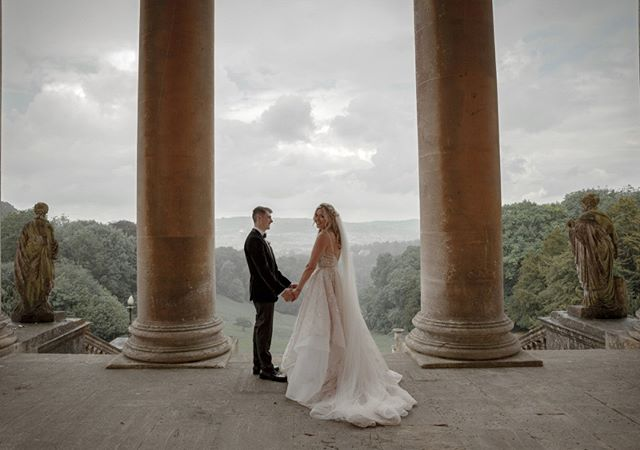 The wonderful wedding of Kirstie & James at Prior Park in Bath. What a setting!  What a day! See more on my website at www.chrisboultonweddings.co.uk  #elitona #priorparkcollege #priorpark #royalcrescenthotel #nationaltrustpriorpark #hayleypaige #weddingphoto #weddingphotography #weddingphotographer #rockmywedding