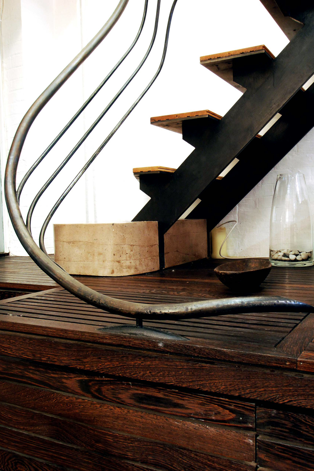 Glass Catwalk and Staircase