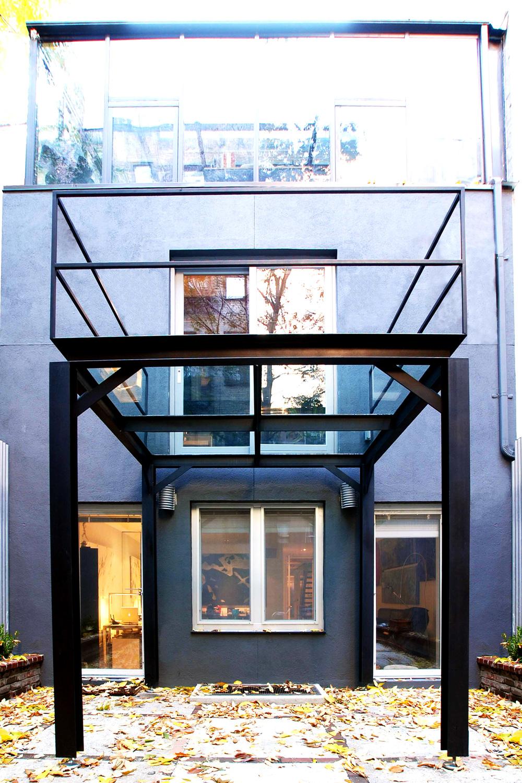 Steel & Glass Balcony