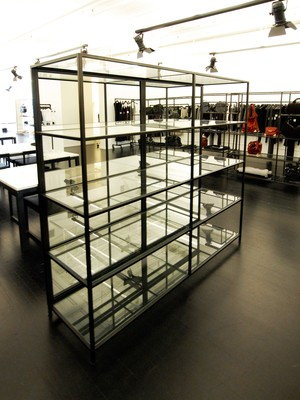 Metal & Glass Display Case — Custom Metal Fabrication in Brooklyn NYC