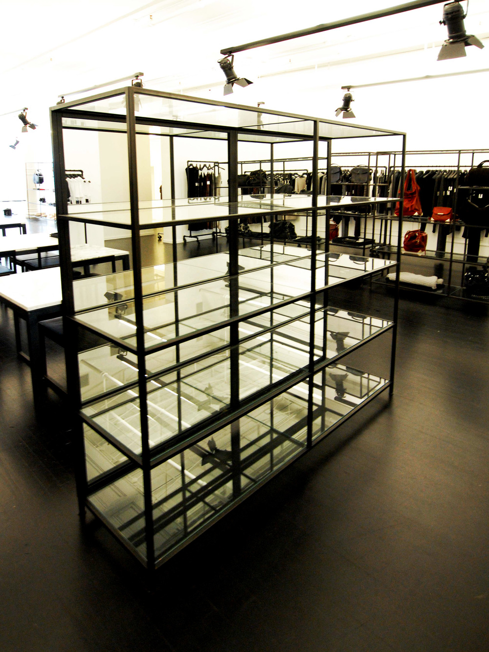 Glass & Metal Display Case