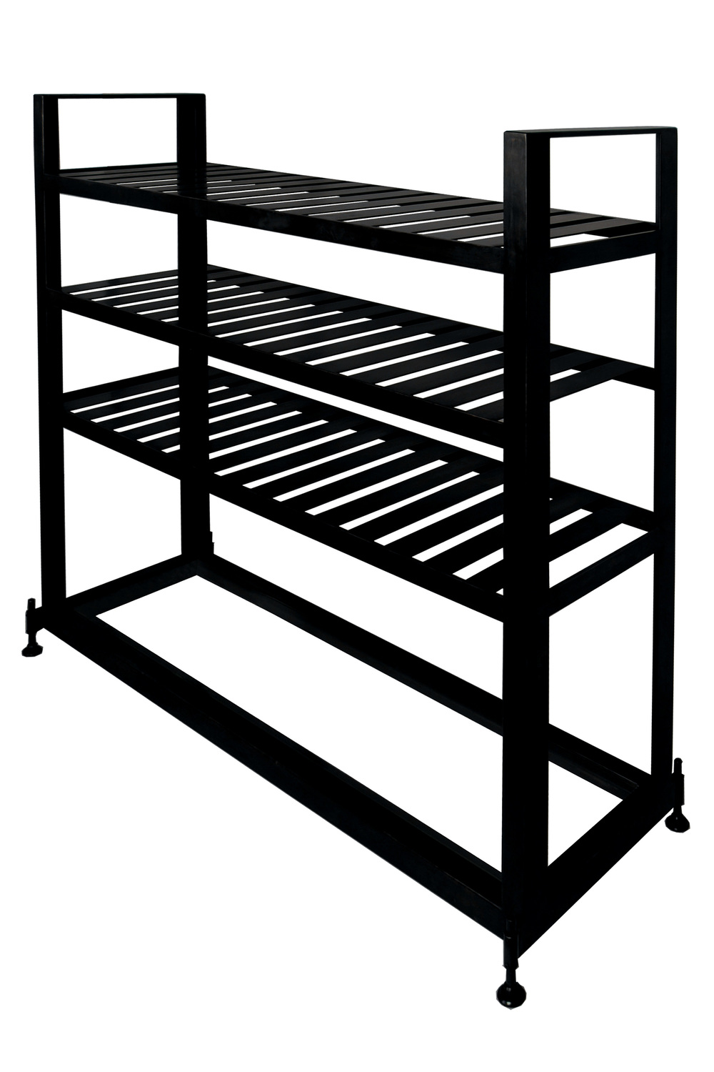 Glass & Steel Bakers Rack