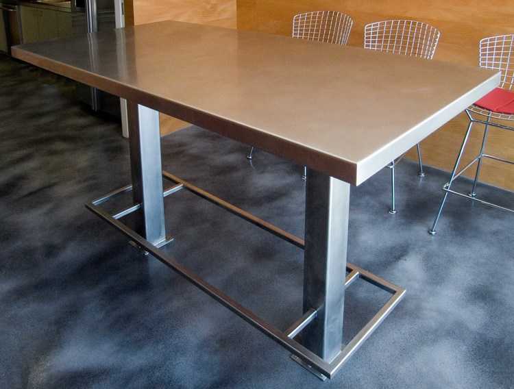 Stainless Steel Table Custom Metal Fabrication In Brooklyn NYC - Stain steel table