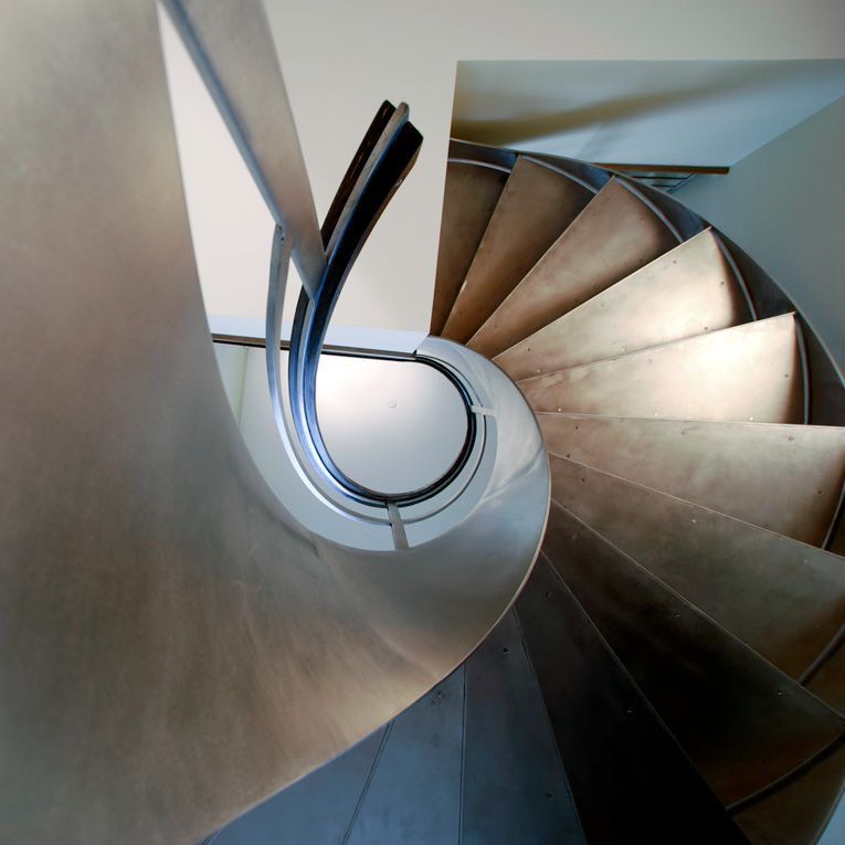 architectural metal works Staircase