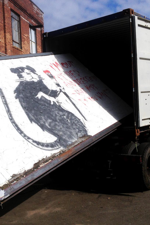 Banksy Restoration
