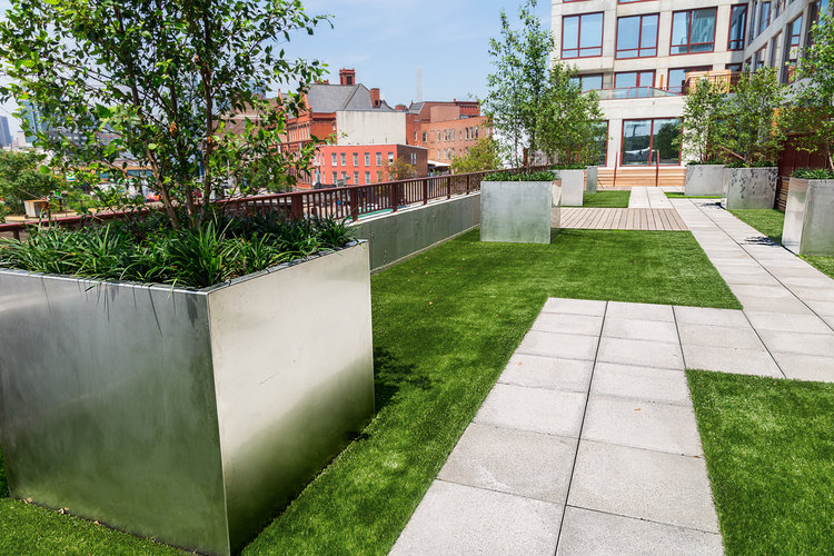 Stainless Steel Planter Boxes Custom Metal Fabrication In Brooklyn Nyc