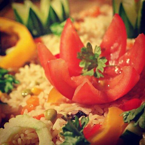 Senegal style lounasta African Potsissa. #senegal #helsinki #foodgasm #ruoka #instafood #visithelsinki #african