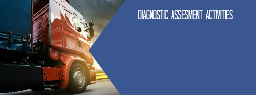 CDX Medium/Heavy Vehicle  offers more than 60 diagnostic assessment activities.    With these diagnostic assessment activities students build their diagnostic skills by applying their understanding of automotive theory to real life vehicle problems. They follow the verify, identify, and rectify process to help students solve the problems quickly and accurately.