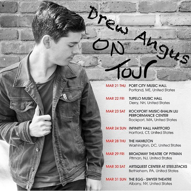 Stoked to be heading out on the road with Drew Angus and the band, opening for Marc Broussard in late March! Check the dates, get your tix soon! Follow @marcbroussard and @drewangusmusic for more info. • • • • #tour #marcbroussard #drewangus #drummer #percussionist #popmusic #singersongwriter #livemusic #newengland #spdsx #dreamcymbals @dreamcymbals @roland_us