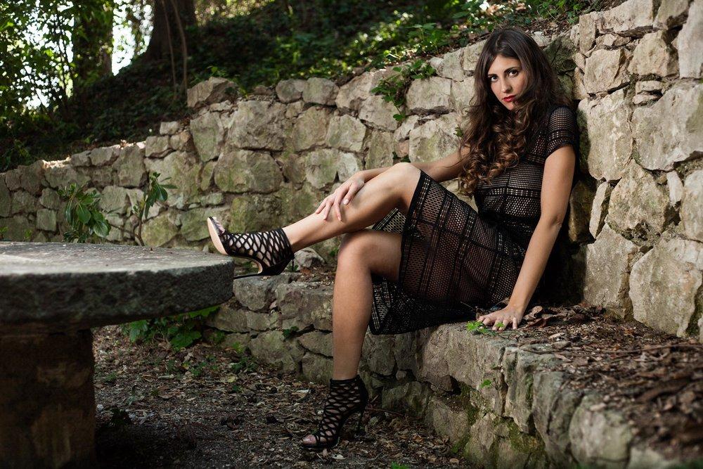 Nicole Andreolli  - Foto di moda realizzata per il brand  Le Follie