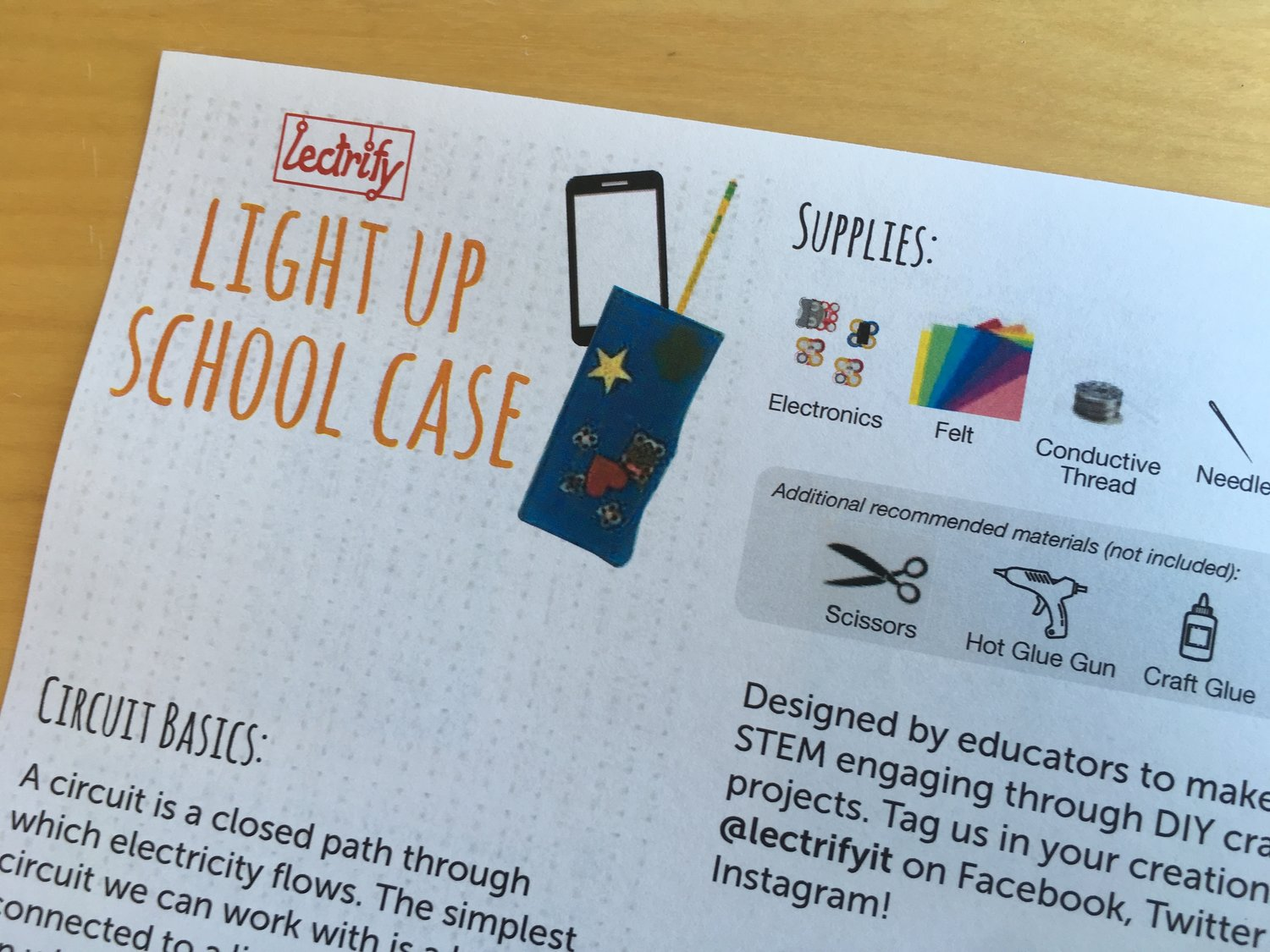 Scouts Stem Projects Lectrify Circuit Basics With Your Students And Have Them Build A Closed