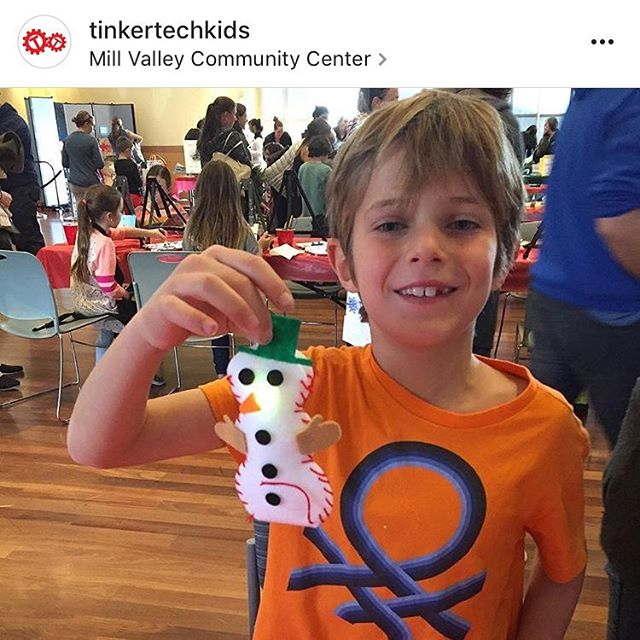 "Do you want to build a ""light  up"" snowman? #tinkertech #snowman #ornaments #STEM #STEAM #holidays"