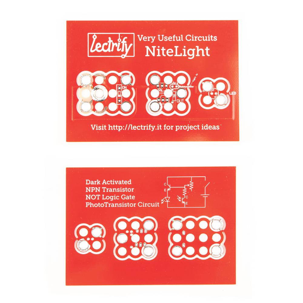 Soldering Kit Nitelight Lectrify Npn Transistor Circuits