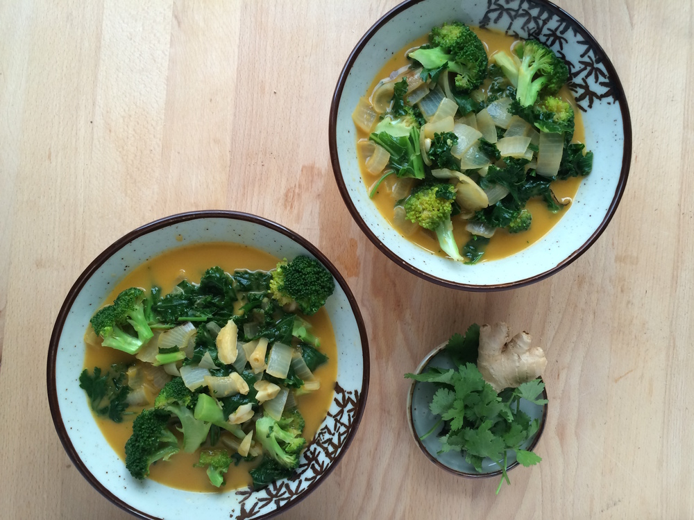 Sample Recipe: Veggie Coconut Soup