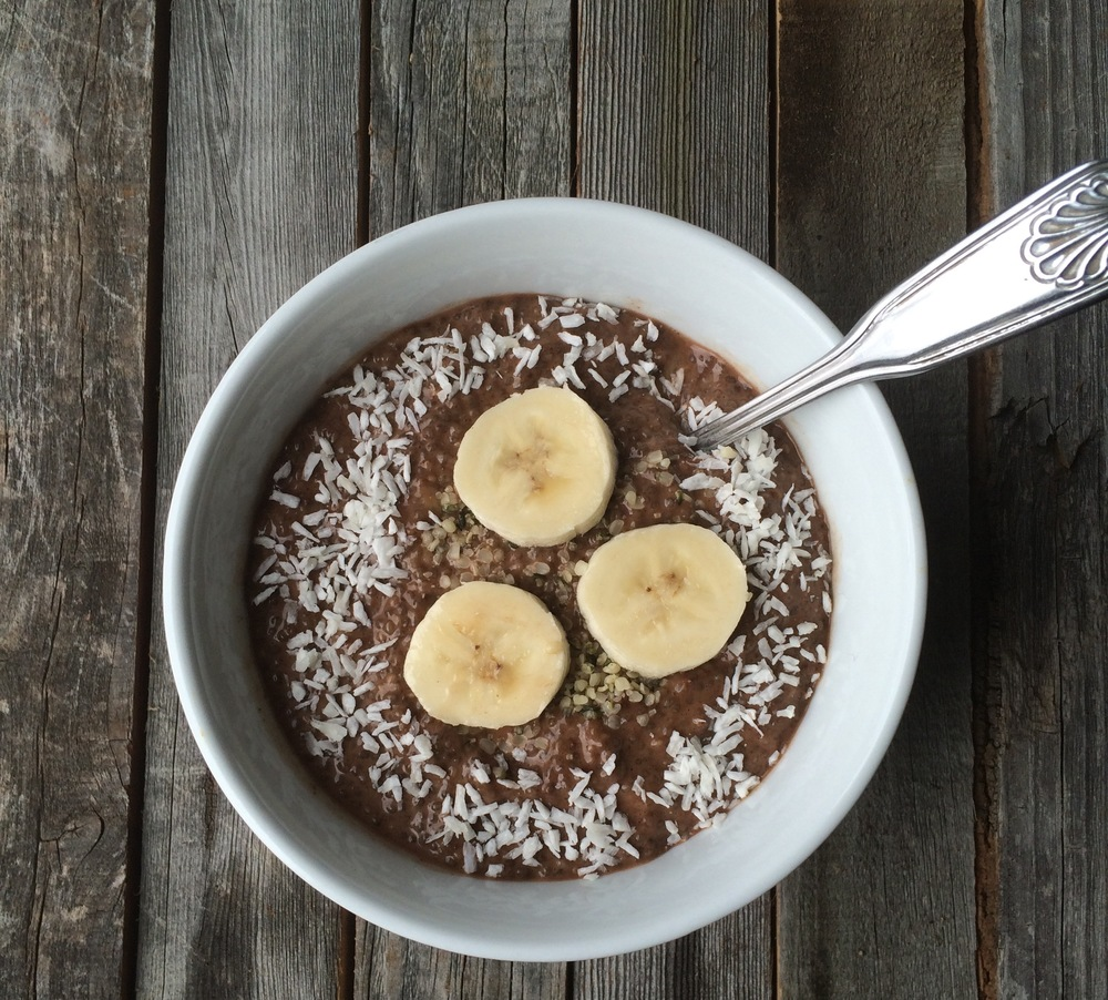 Sample Recipe: Chocolate Banana Pudding