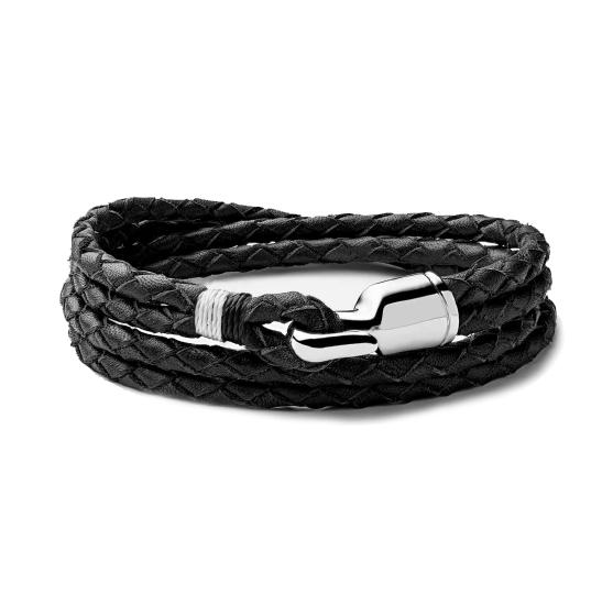 Miansai Trice Bracelet, Sterling Silver