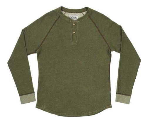 Pistol Lake Heavy Henley