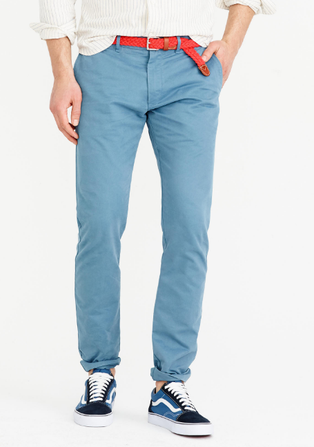 J.Crew Broken-in Chino in 484 Fit
