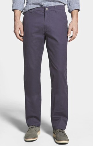 Bonobos Straight Fit Washed Cotton Chinos