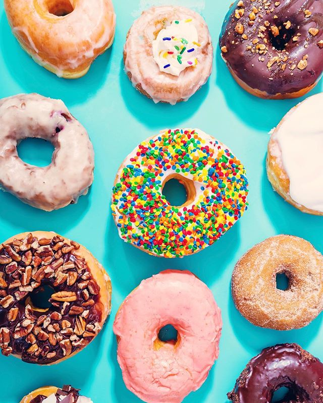 We are taste testing this morning for the bostondonutfestival.com event next Sunday. This should be interesting 🍩 #donutsandrinks