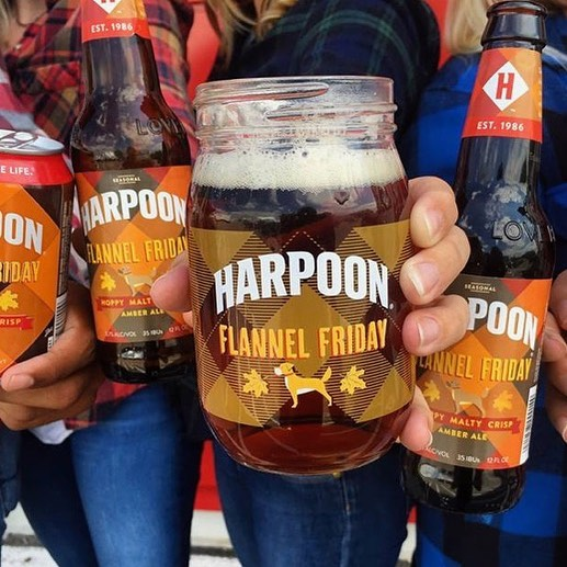 So excited to taste a little Autumn 🍂 @harpoonbrewery  Flannel Friday on a Sunday! Tickets at bostondonutfestival.com 🍩🍺