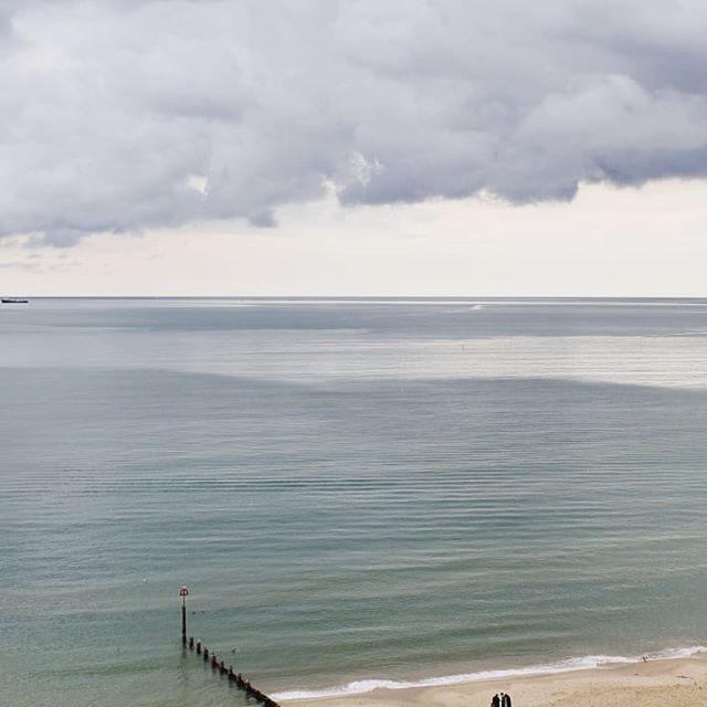 Nice to see the sea this weekend! ⠀ #bournemouth #sea