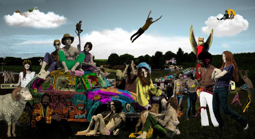 Woodstock Tropicália,4,40 x 2,4m , 2016