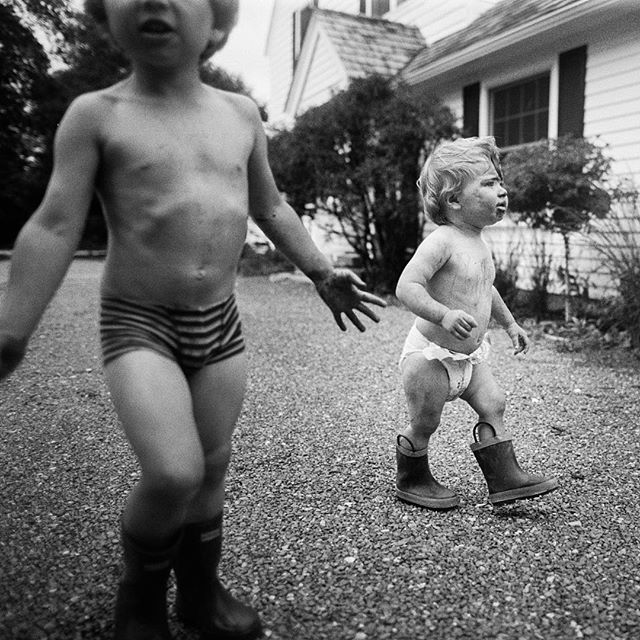 """""""The hunt for more mud"""" -Summer 2017  While pregnant last year I totally lost my motivation for anything related to photography. It completely vanished. I chalked it up to my body using so much energy to create a human I had none left to create anything else.  My son is now six weeks old and I feel the photography itch starting to return almost like clockwork. I just mailed off a few rolls to the lab and I'm feeling giddy. I've missed you, film!!"""