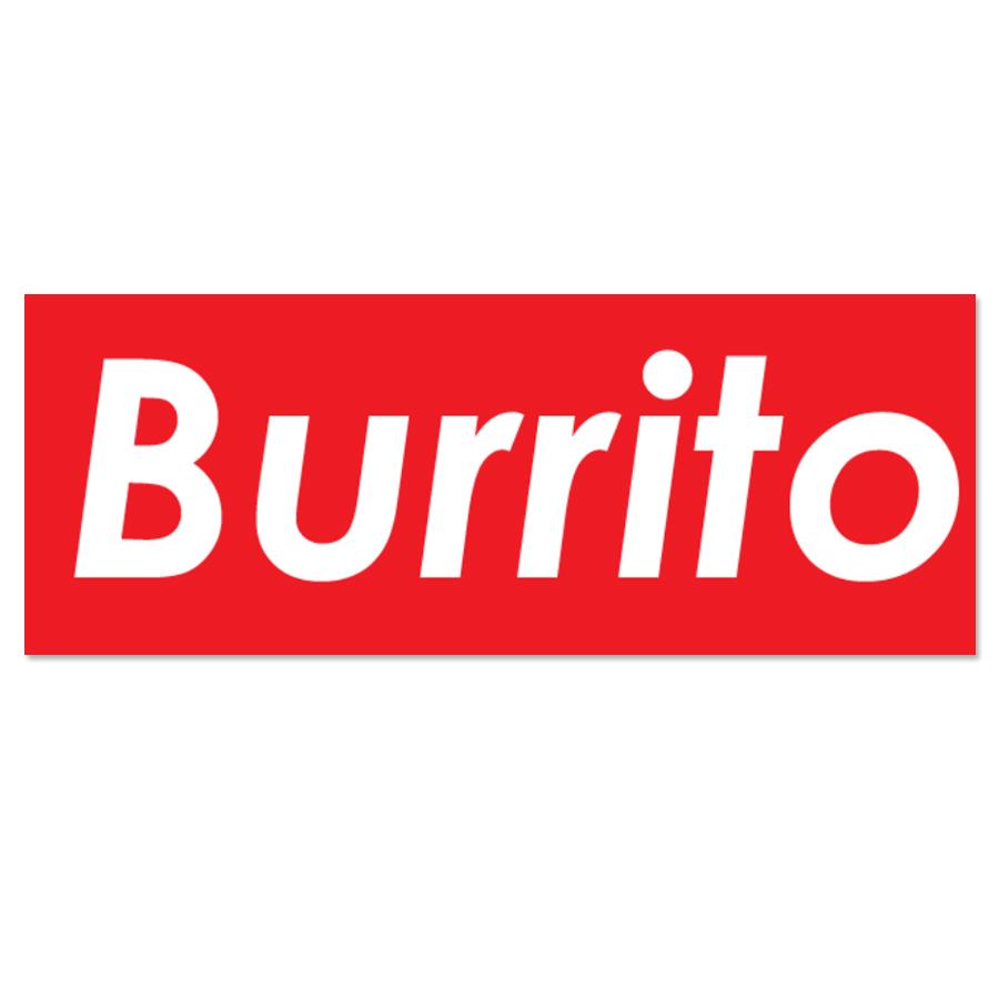 Team Burrito Sticker 8 Supreme