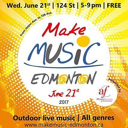 We're excited to be performing at this years Make Music Edmonton. Check out our free show at Stage 5 on June 21 at 8:20pm. 10544 124st. #makemusicedmonton . . . . . . . #yegmusic #yegband #edmontonmusicscene #newmusic #yegshows #edmontonliving #instagramyeg #albertamusic #albertamusicscene #yeg #edmonton #yegnews #albertalife #bandlife