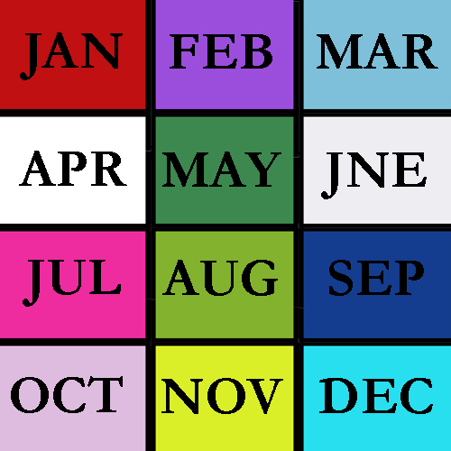 SELECT BY MONTH