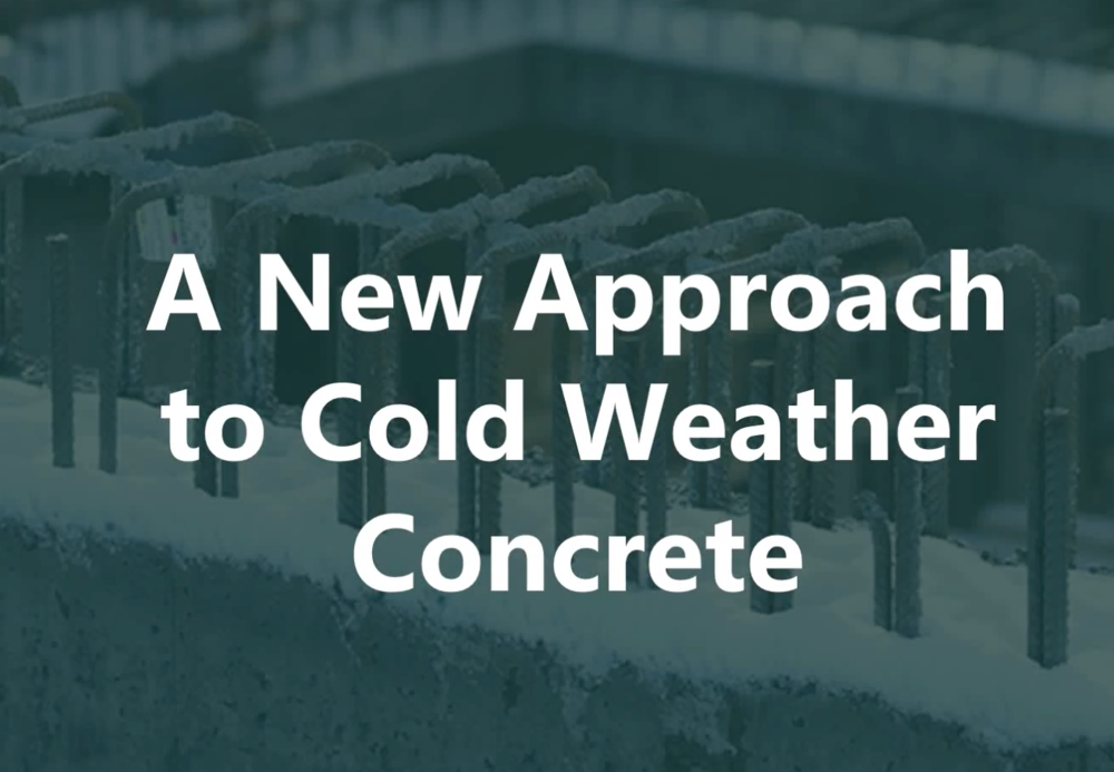 Webinar: Cold Weather Concrete
