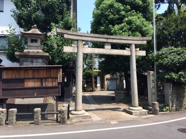 Traditional Shinto temple