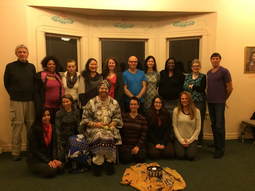 Art of Tracking workshop at New Renaissance Bookstore in Portland, Oregon, November 2015.