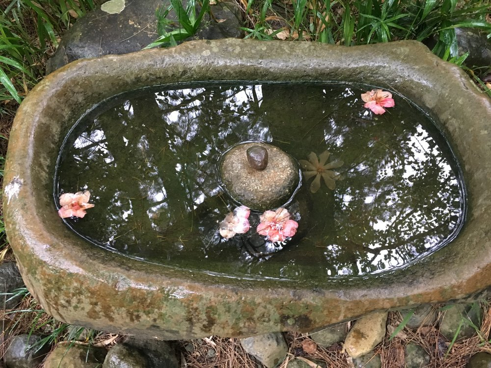 Divining is like staring into a clear bowl of water ...