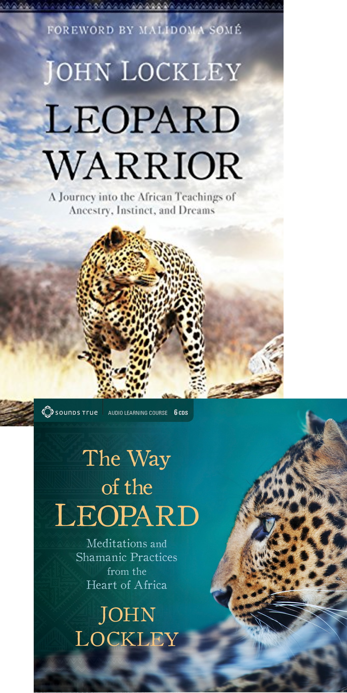 John Lockley Leopard Warrior Book & Way of the Leopard Audio