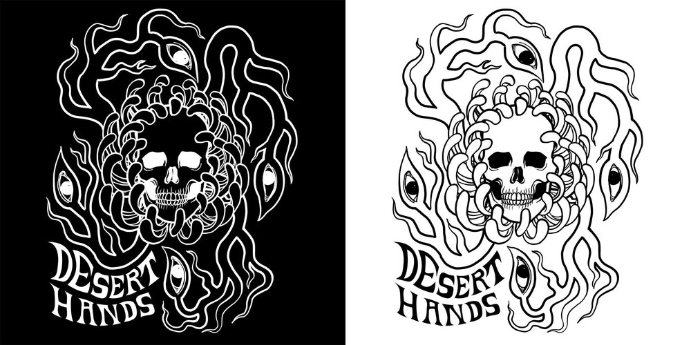 Desert Hands Commission - Front Design.jpg