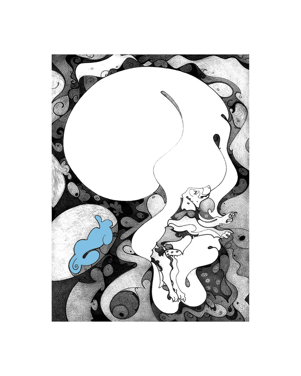 Cloud Nine, digital archival, printed at Zimmerman Fine Art Studio,artwork & copyright by Kathleen Zimmerman