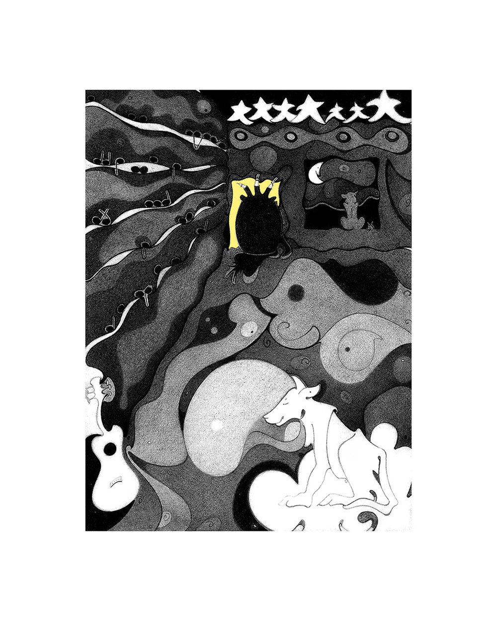 Dreamscape, digital archival, printed at Zimmerman Fine Art Studio,artwork & copyright by Kathleen Zimmerman