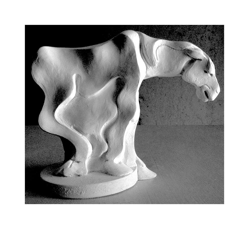 Farm Series - Horse Barn Hill (detail)