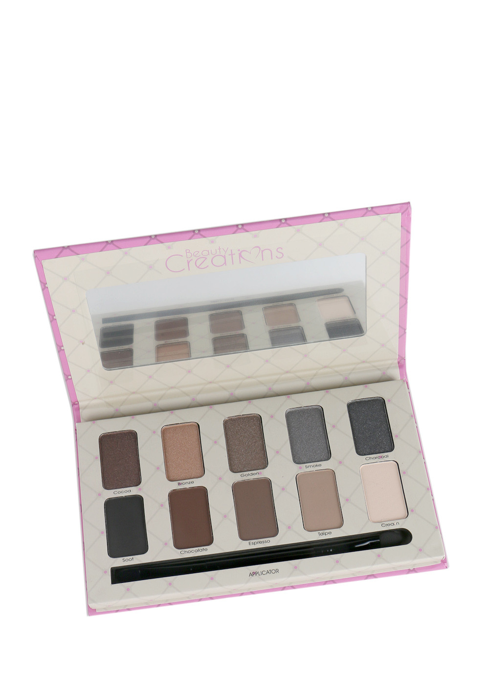 Jacqueline Deviante Cosmetics Beauty Creations Angel Glow Highlight Palette E10d 3600 Tease Nude 12 Pcs 1