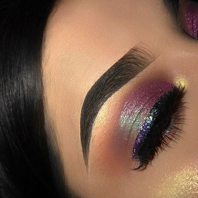 @pretty_face_ab in glitter 37  Shop: www.Jacquelinedeviante.com #glitter #mua #makeup