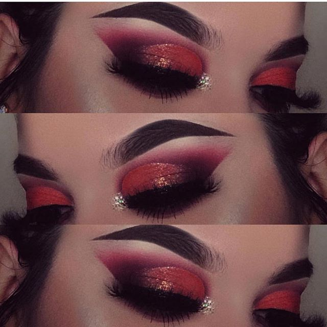 @pretty_face_ab in glitter 41 ❤️ #glitter #mua