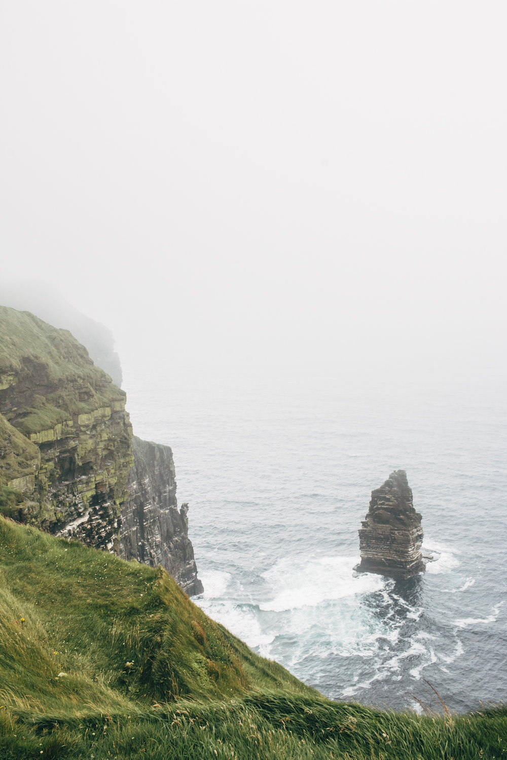 Cliffs of Moher - The weather in County Clare is so undeniably finicky that it doesn't matter whether or not you see the sun as you travel to the coast as chances are, it's going to change.