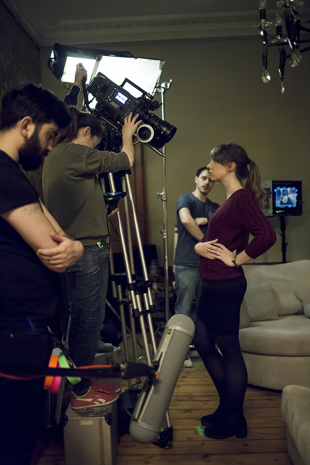 On Set - 'Across the Void'