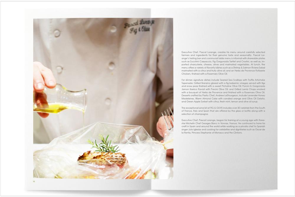 Fig & Olive brand magazine
