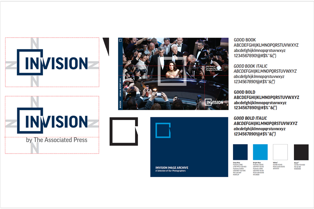 Associated Press Invision brand guidelines