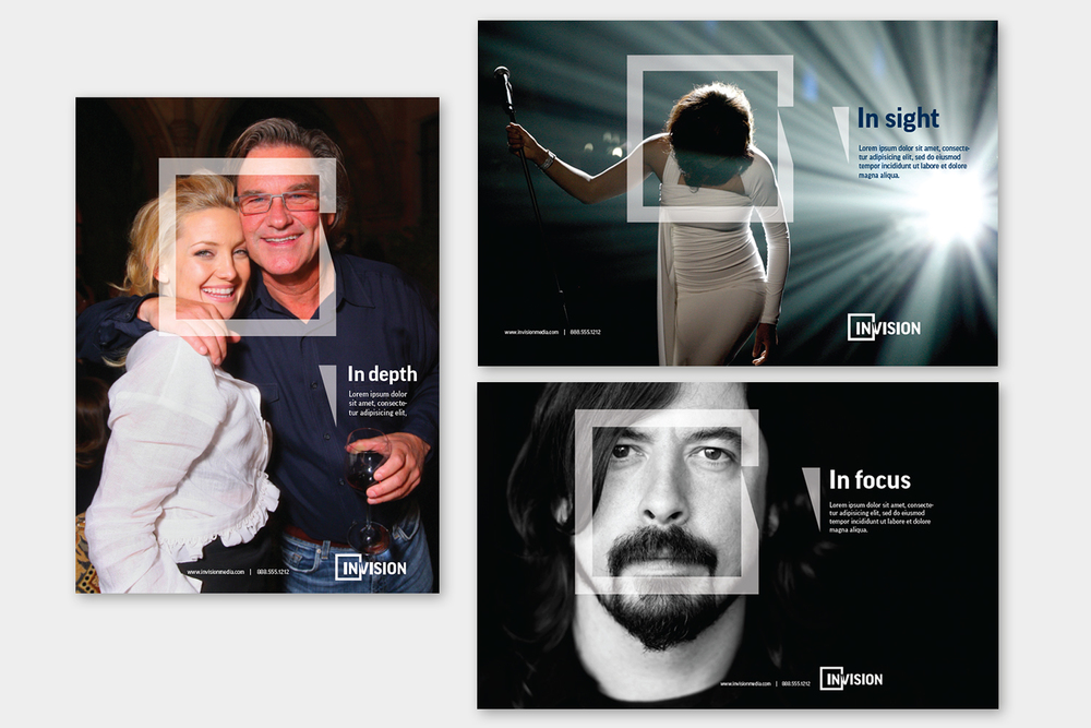 Associated Press Invision brand identity