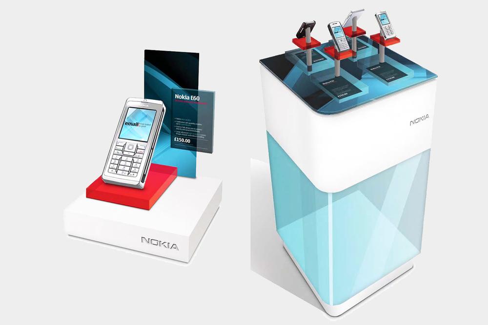 Nokia for Business retail design